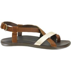Olukai Upena leather backstrap sandals